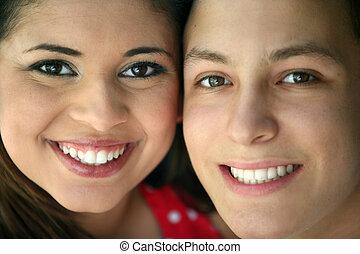 couples adolescence, heureux