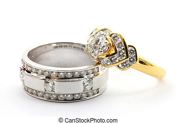 Couples Diamond Ring