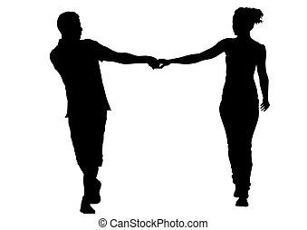 couples, mani