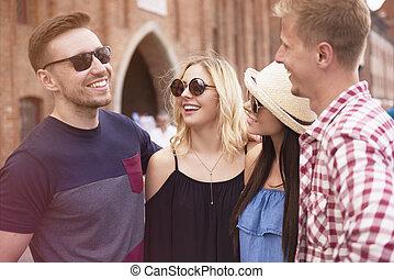 couples, sauvage, photographie, deux, jeune