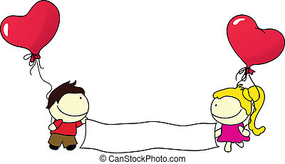 couples with balloons