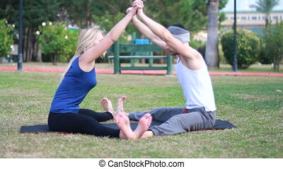 couples, yoga