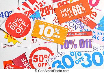 coupon, gruppe