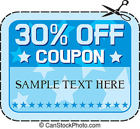 Coupon sale 30%