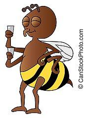 coupure, abeille