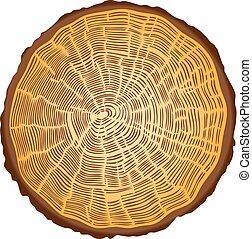 coupure, arbre