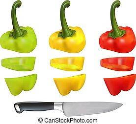 coupure, bulgare, poivre