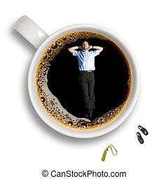 coupure, café