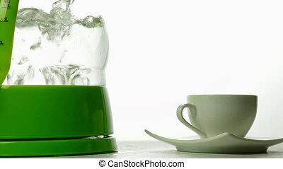 coupure, café, prendre