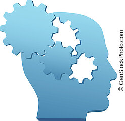 coupure, engrenage, esprit, innovation, technologie, penser, dehors