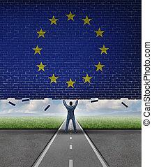 coupure, marché, européen