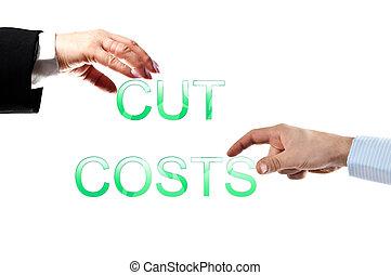 coupure, mots, coûts