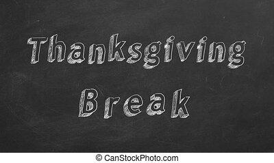 coupure, thanksgiving
