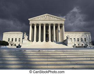 cour suprême, orage
