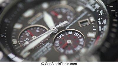 courant, 4k, temps, timelapse, cadran horloge