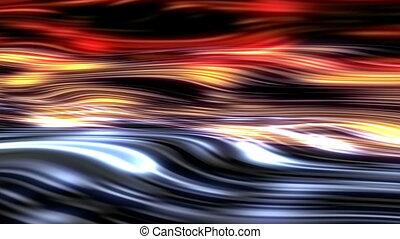 courbe, couleur vague, ligne, fond