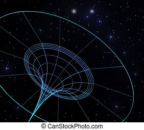 courber, spacetime