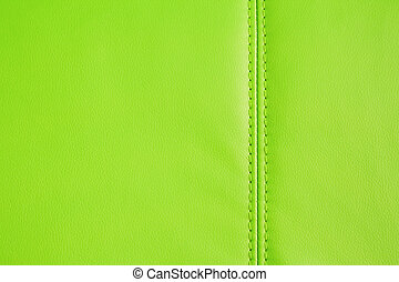 couro, fundo, verde, artificial, textura