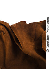 couro, marrom, animal, textura