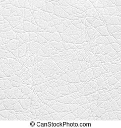 couro sintético, textura, fundo, branca, ou