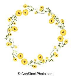 illustration vecteur de 233t233 couronne flowers vecteur