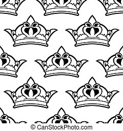 couronne royale, seamless, modèle
