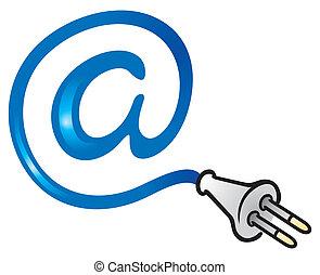 courrier, électrique