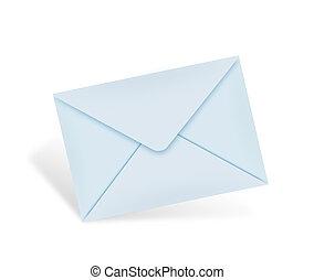 courrier, concept, classique
