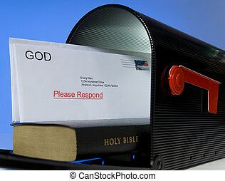 courrier, dieu