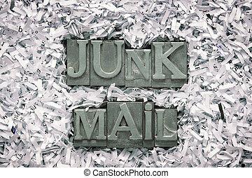 courrier, jonque
