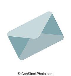 courrier, message, enveloppe
