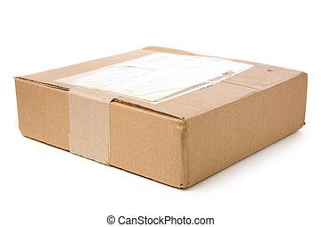 courrier, paquet