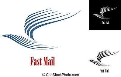courrier, symbole, jeûne