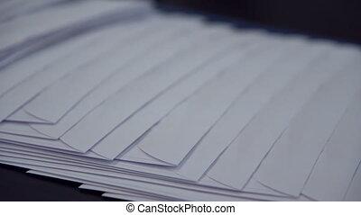 courrier, usine, enveloppes