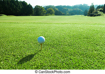 cours, golf