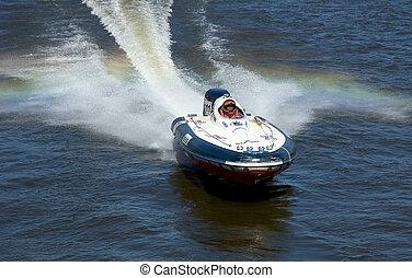 course, bateau