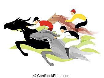 course chevaux