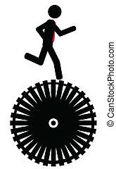 course, roue
