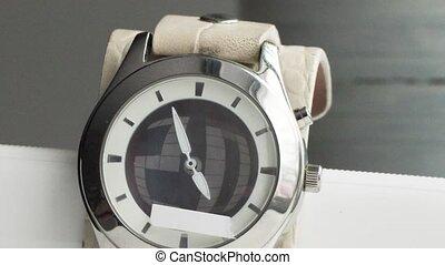 course, timelapse, flèches, montres, poignet, mécanique, ...