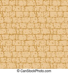 Coursed ashlar stone wall texture - Coursed ashlar. Seamless...