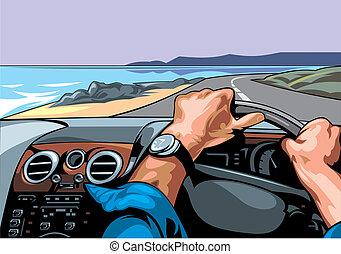courses, chauffeur