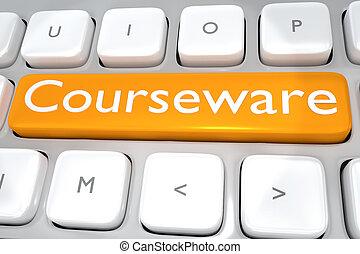 Courseware - media concept