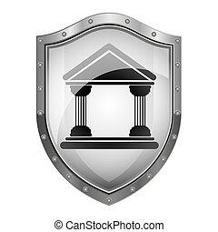 Court building symbol