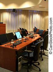 Court hall of Yugoslavian Tribunal ( inside)
