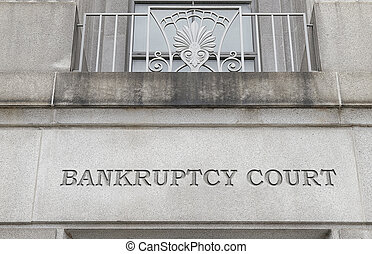 court house - Exterior of a Bankruptcy Court building