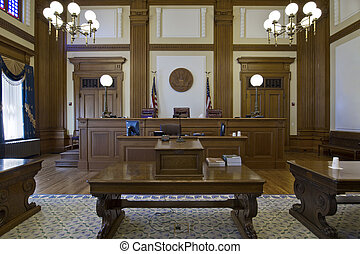 Court of Appeals Courtroom in Pioneer Courthouse 3