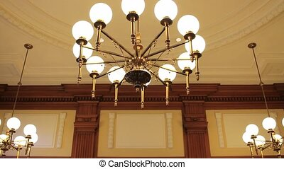 Historic Pioneer Courthouse Court of Appeals Courtroom in Portland Oregon Downtown 1080p