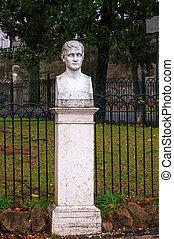 court, sculpture, napoléon