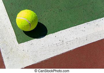 court tennis, balle