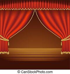 courtains, 01, teatro